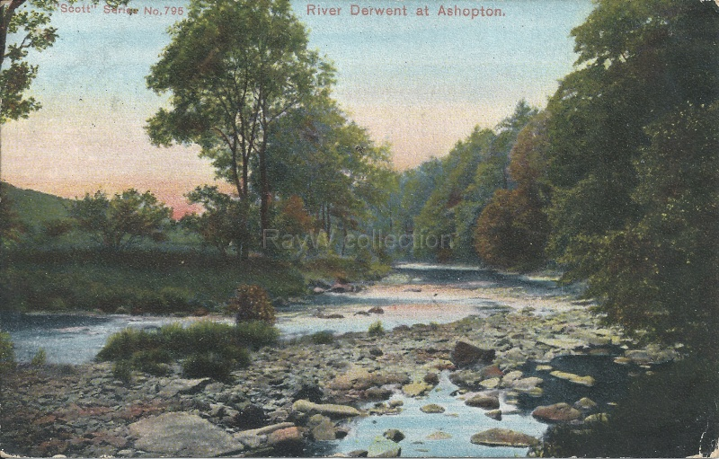 The River Derwent at Ashopton