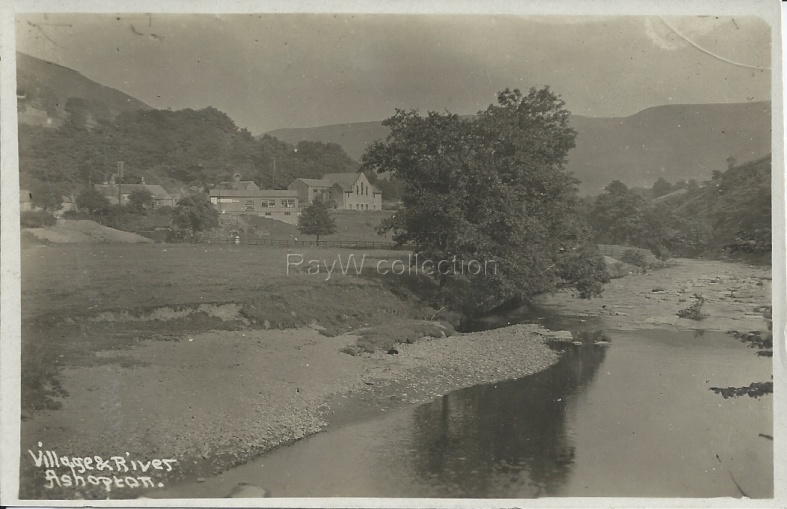 Ashopton Village and River Derwent