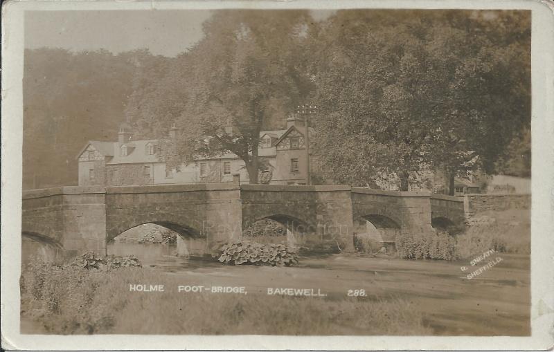Bakewell Holme Foot-Bridge by Sneath