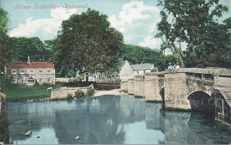 Bakewell Holme footbridge