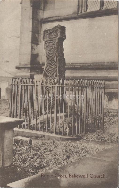 Bakewell - Runic Cross
