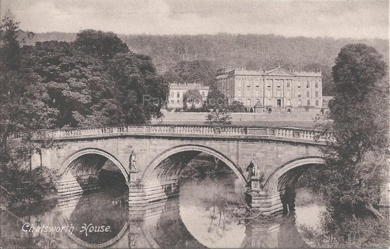 Chatsworth House and Bridge