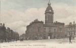 Chesterfield Town Hall and Market Place